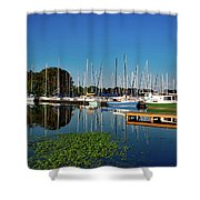 Lake Guntersville Alabama Shower Curtain