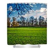 Landscape Graphics Shower Curtain