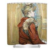 Lautrec  Shower Curtain