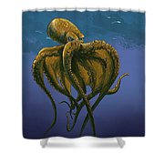 8 Legs Of The Sea Shower Curtain
