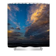 My Private Beach  Shower Curtain