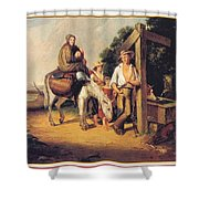 North Carolinaimmigrants Poor White Folks James Henry Beard Shower Curtain