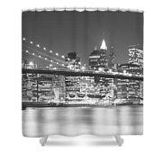 Nyc, New York City, New York State, Usa Shower Curtain