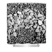 Pebbles 2 Shower Curtain