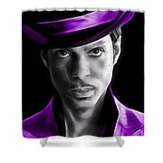 Prince Tribute Shower Curtain