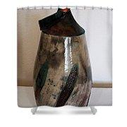 Raku Shower Curtain