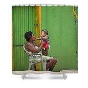 Roatan Scene Shower Curtain