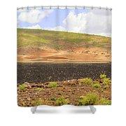 Rural Landscape In Ethiopia Shower Curtain