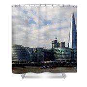 Southwark Skyline Shower Curtain