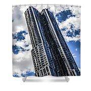 8 Spruce Street Shower Curtain