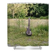 8 String Esp Ltd Jr608 2 Shower Curtain