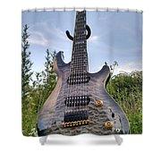 8 String Esp Ltd Jr608 Shower Curtain