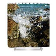 Sunshine Beach At Noosa, Sunshine Coast Shower Curtain