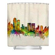 Sydney Australia Skyline Shower Curtain