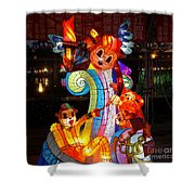 The 2016 Kaohsiung Lantern Festival Shower Curtain