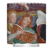 The Concert Of Angels Shower Curtain