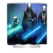 The Star Wars Poster Shower Curtain