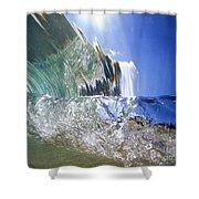 Underwater Wave Shower Curtain