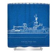 U.s. Coast Guard Cutter Polar Sea Shower Curtain