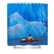 View Of Alaska Shower Curtain