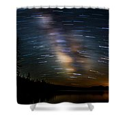 Waldo Lake Shower Curtain