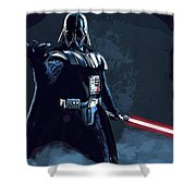 Wars Star Art Shower Curtain