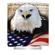 We The People. Shower Curtain