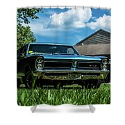 Classic Cars Shower Curtain