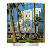 8230-beacon Hotel Shower Curtain