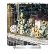 8238- Little Havana Store Shower Curtain
