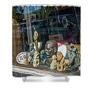 8241- Little Havana Store Shower Curtain