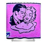 8280- Little Havana Mural Shower Curtain