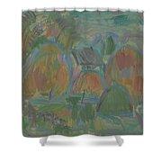 Haystack Shower Curtain