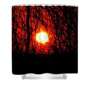 Sunsets Shower Curtain
