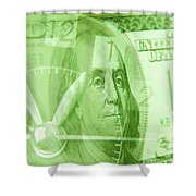 Time Is Money 17 Shower Curtain