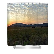 Landscape Oil Painting For Sale Shower Curtain