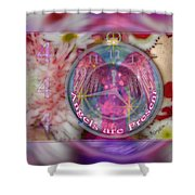 #8913_444 Angels Are Present 2 Shower Curtain