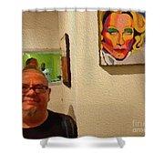 9-10-2057r Shower Curtain