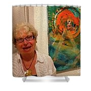 9-10-4057a Shower Curtain