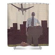 9-11-12 Shower Curtain