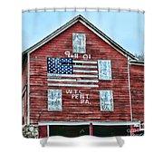 9 11 Tribute Shower Curtain