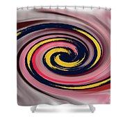 9-12-2057v Shower Curtain