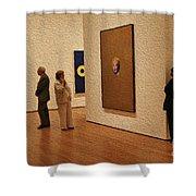 9-12-3057o Shower Curtain