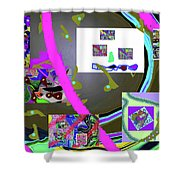 9-21-2015cabcdef Shower Curtain