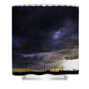 2nd Storm Chase 2015 Shower Curtain