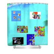 9-6-2015habcde Shower Curtain