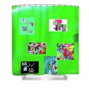 9-6-2015habcdefghij Shower Curtain