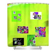 9-6-2015habcdefghijklmnop Shower Curtain