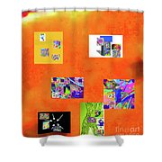 9-6-2015habcdefghijklmnopqrtuv Shower Curtain