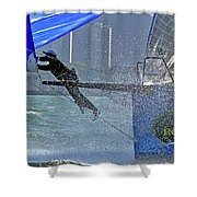 All Hands Shower Curtain
